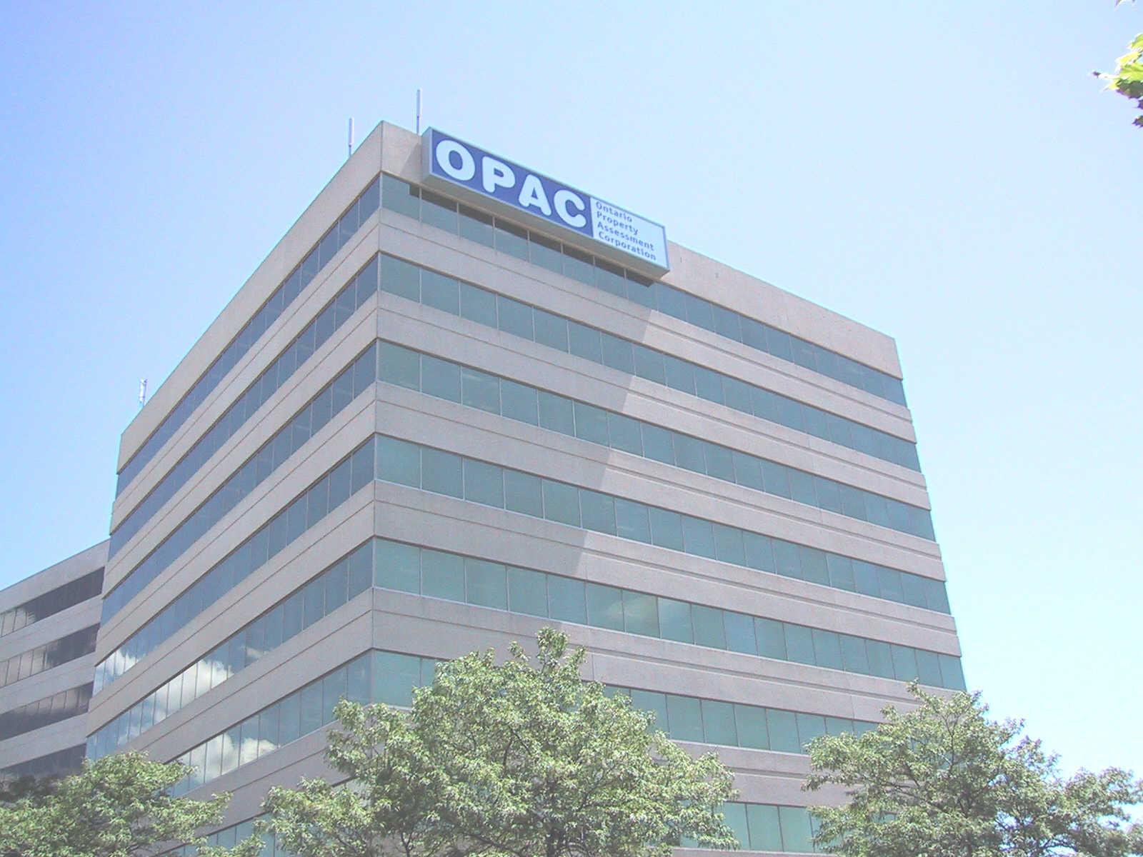 OPAC Building top